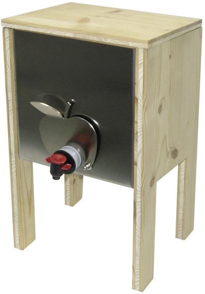 bag in box dispenser inox l rche 3 5lt inderst. Black Bedroom Furniture Sets. Home Design Ideas