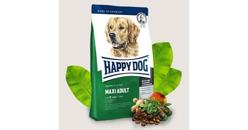 happy dog supreme f w maxi adult 15kg inderst. Black Bedroom Furniture Sets. Home Design Ideas